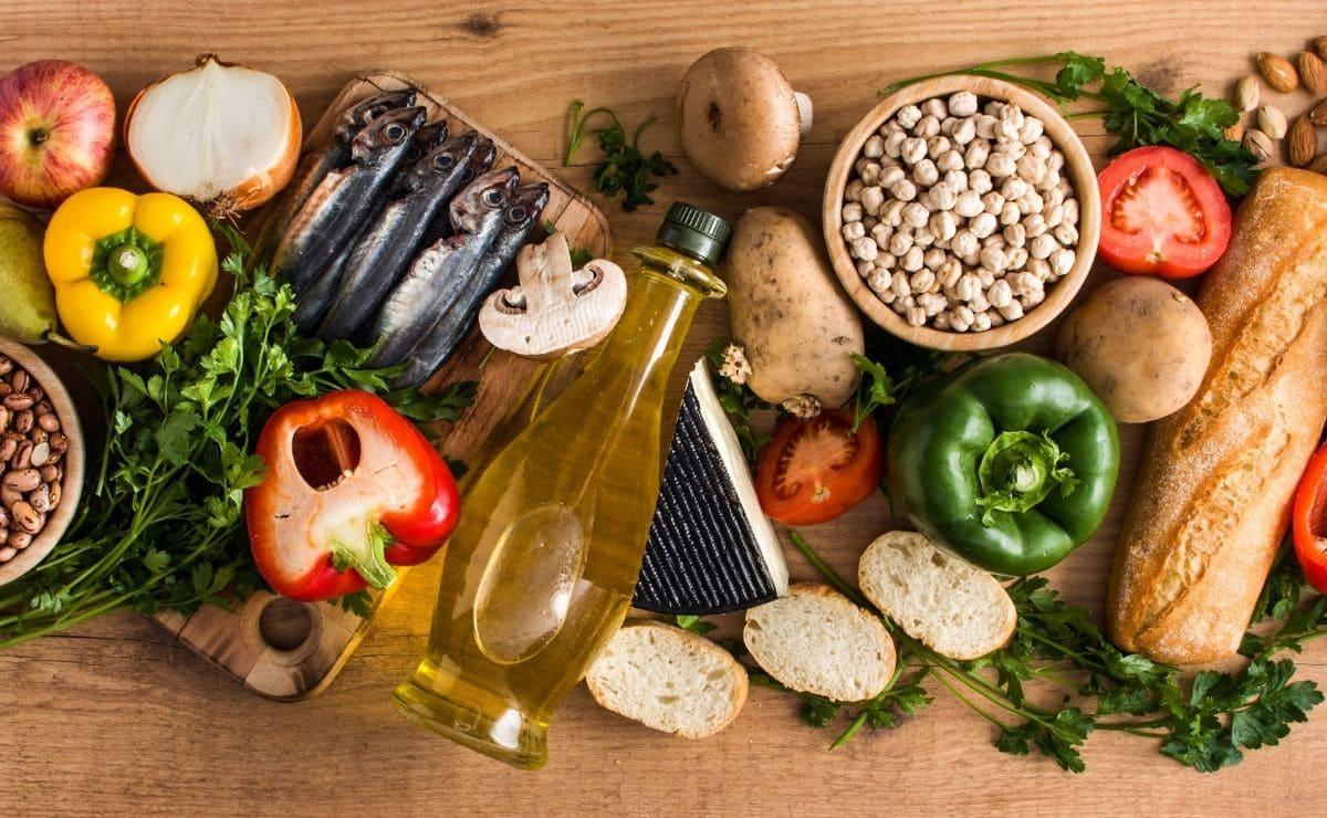 Alimentos dieta mediterranea