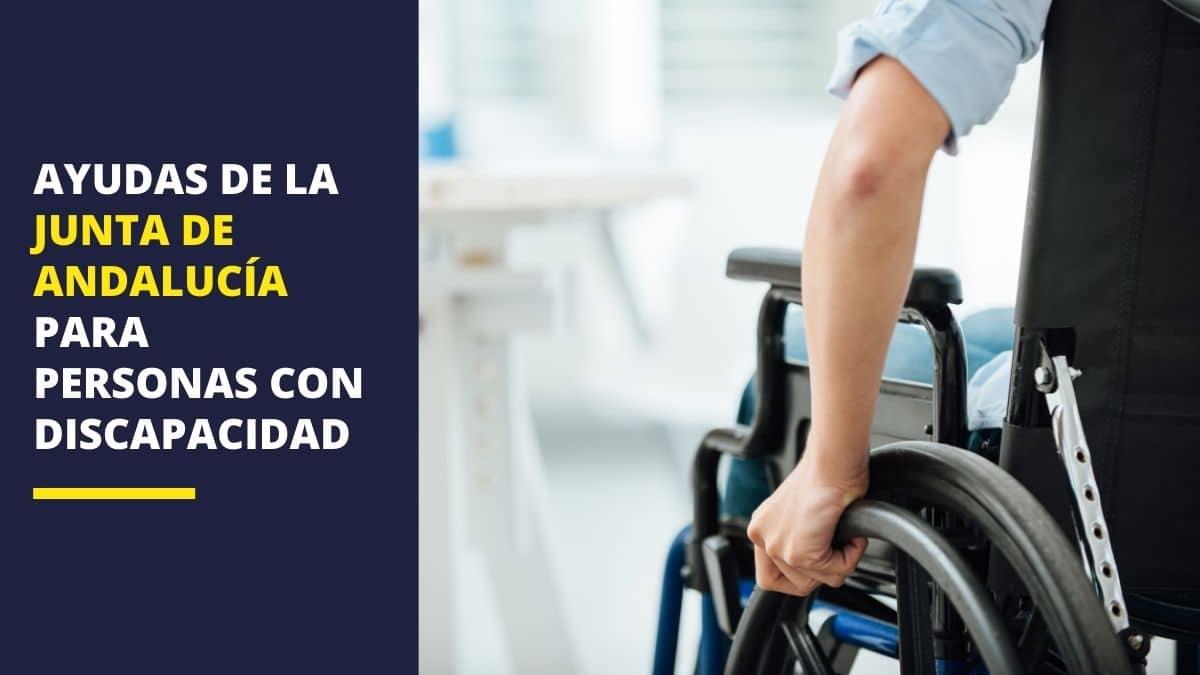 Ayudas y prestaciones de la Junta de Andalucía para personas con discapacidad