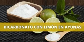 Bicarbonato con limón en ayunas