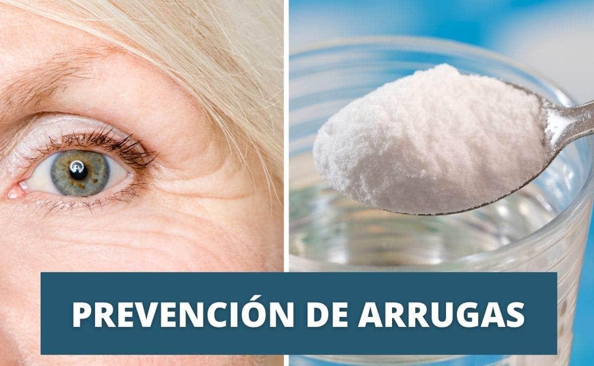 Bicarbonato de sodio eliminar arrugas