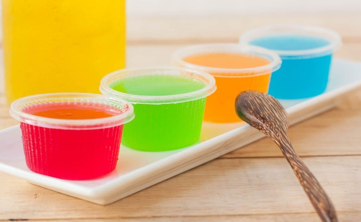 Gelatina de zumo de frutas
