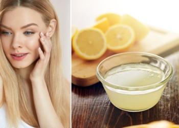 Jugo de limón piel