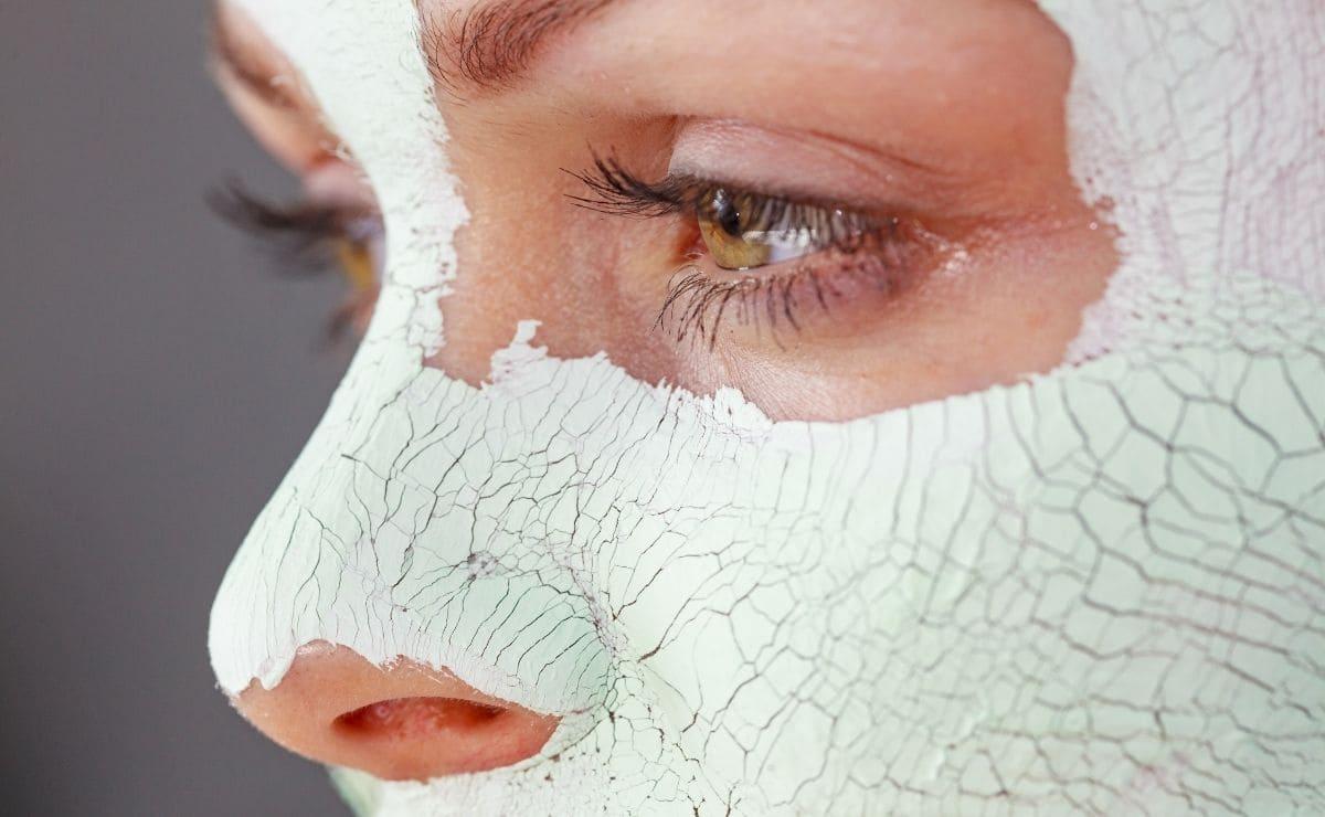 Mascarilla facial acne