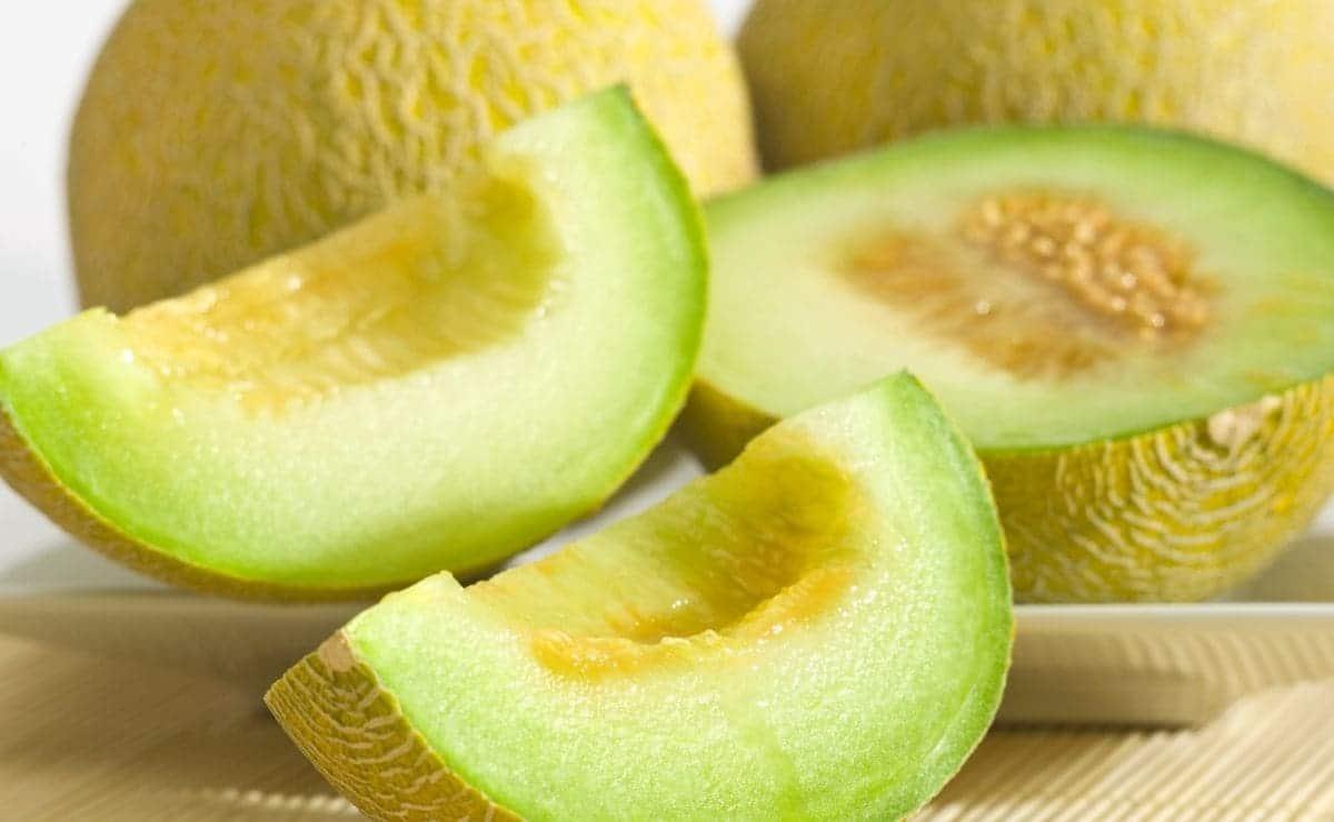 Melón fruta saludable