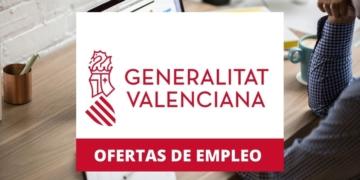 Oferta de empleo Generalitat Valenciana