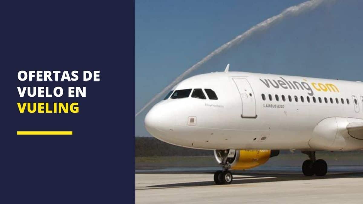 Ofertas de vuelo en Vueling