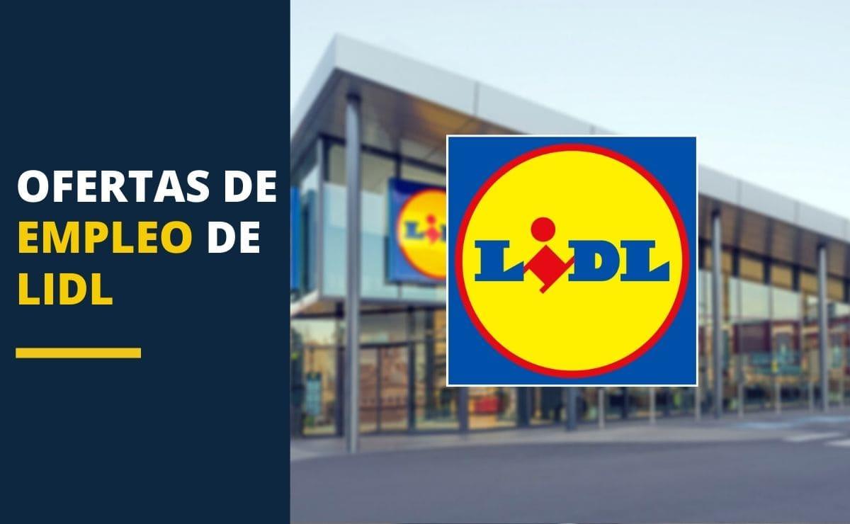 Oferta empleo LIDL Marzo