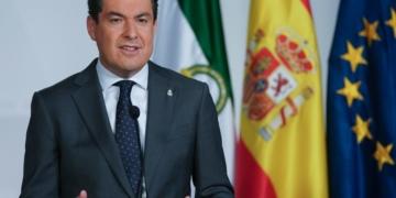 Presidente de la Junta de Andalucia Juanma Moreno