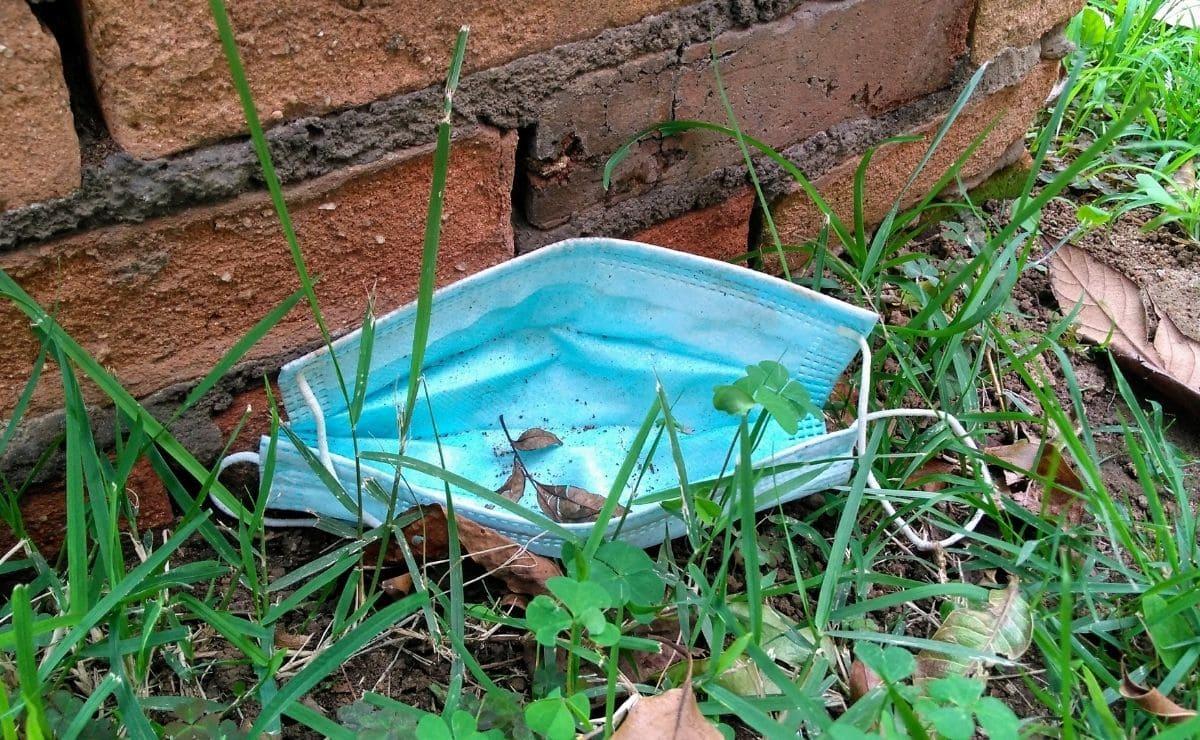 Reciclado mascarilla suelo