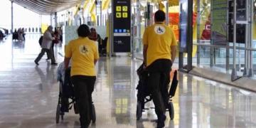 Servicio PMR en el aeropuerto Madrid-Barajas