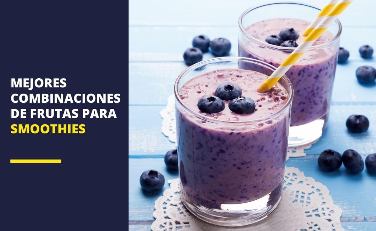 Combinaciones de frutas para smoothies