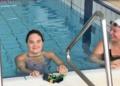 Tahnee Afuhaamango nadadora con síndrome de DOwn