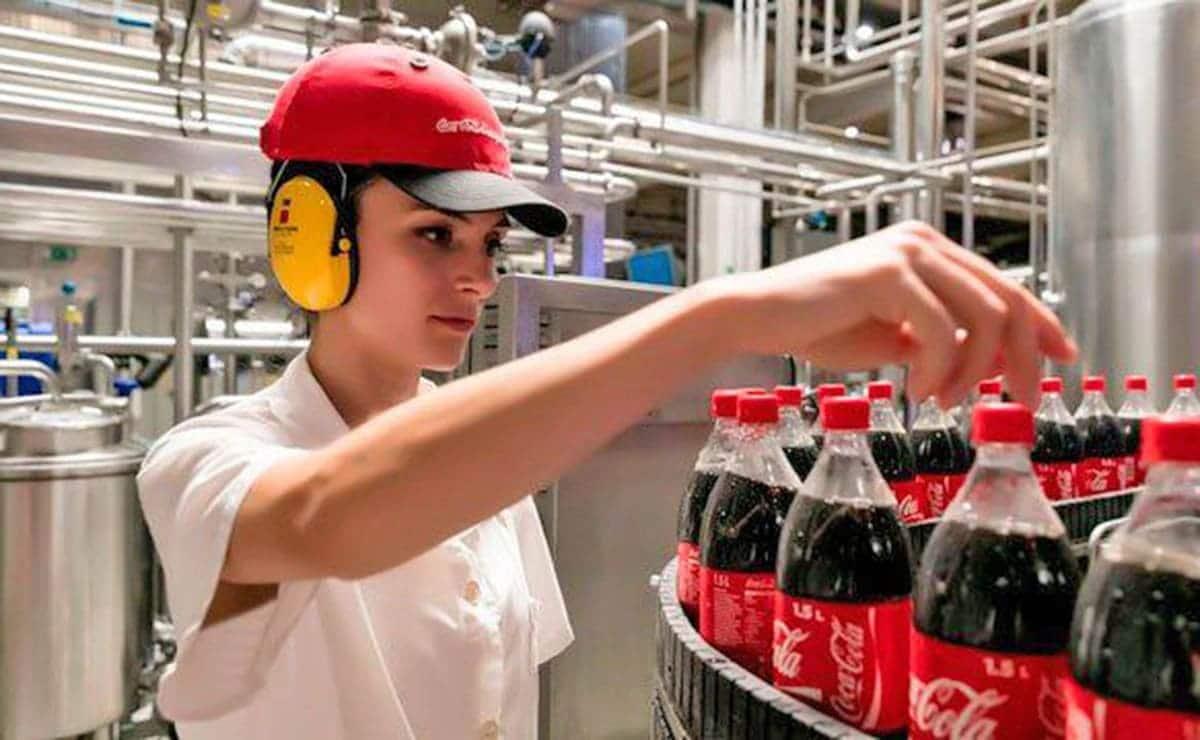 Trabajadora Coca-Cola