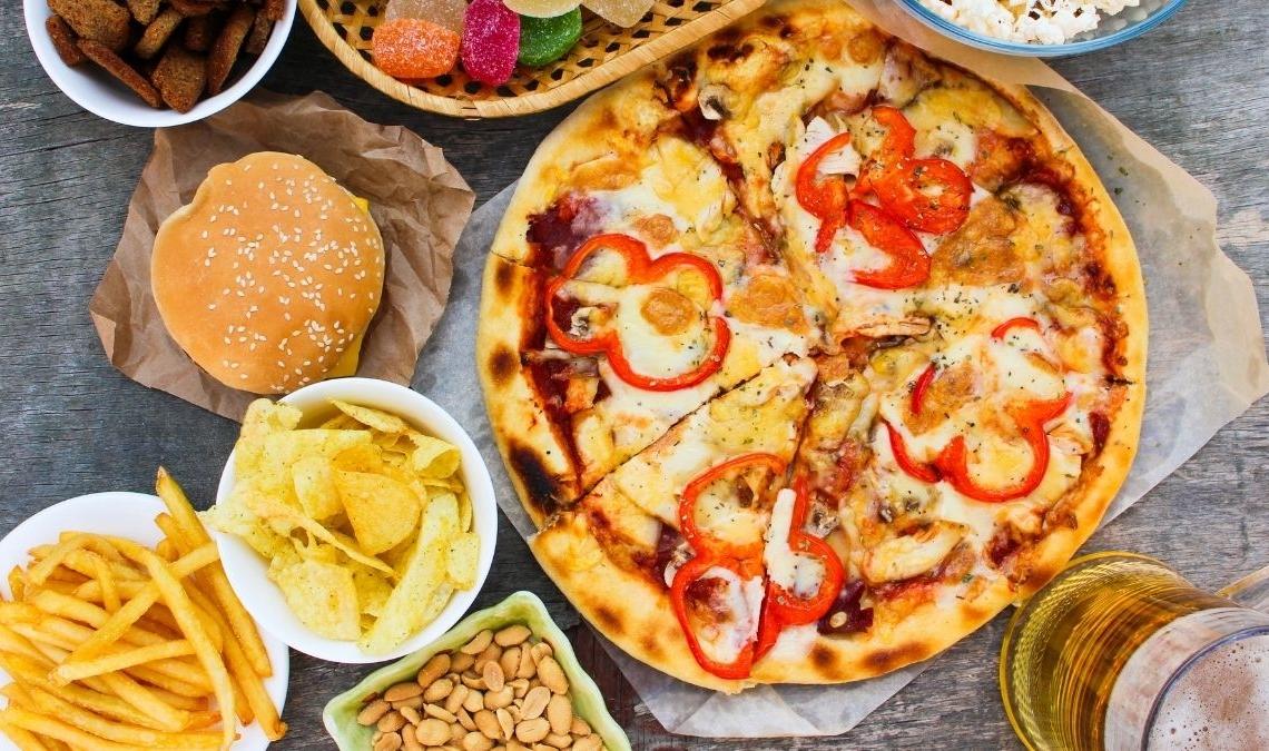 Alimentos con grasa y triglicéridos