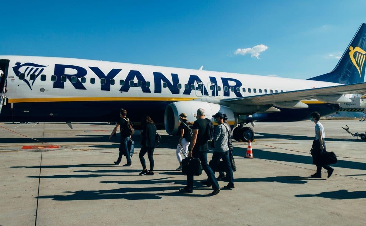 Vuelo de Ryanair turismo