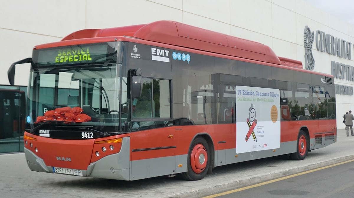 autobus EMT Valencia autismo