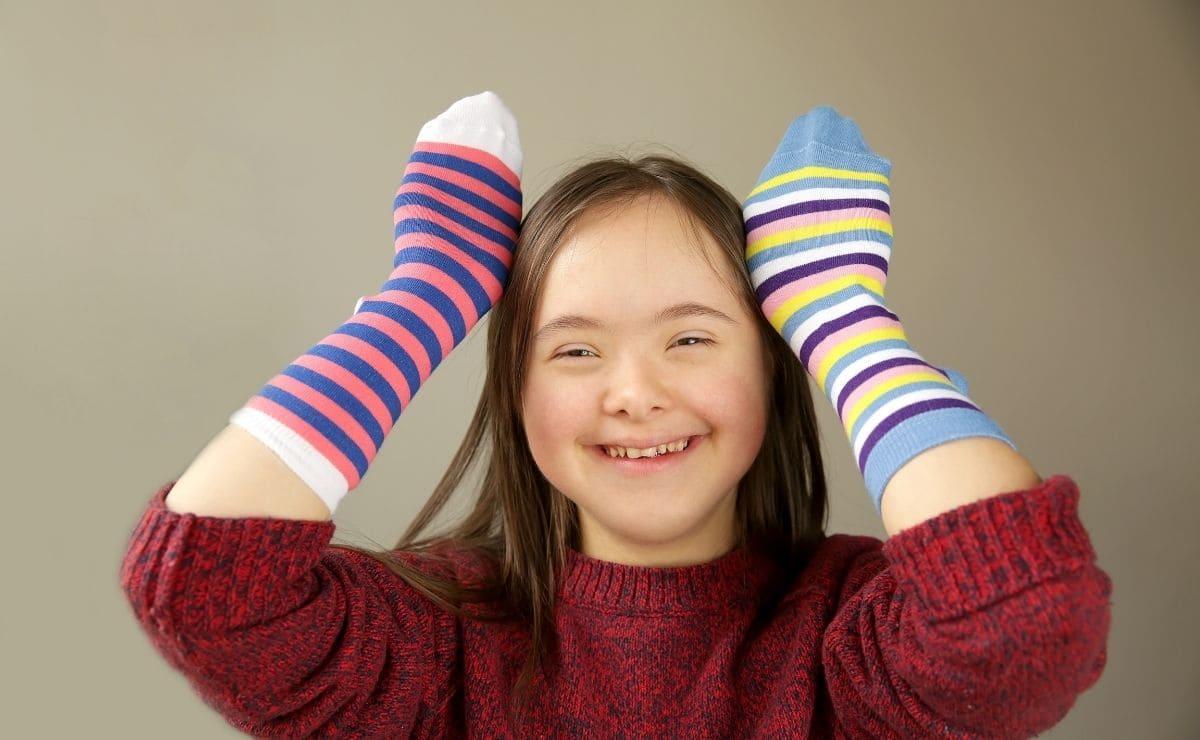 calcetines dispares sindrome de down