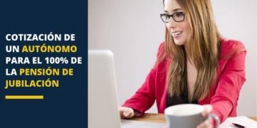 cotización autónomos pension España