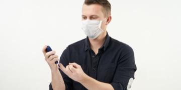 Paciente de diabetes con Coronavirus