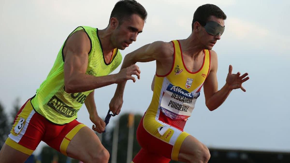 Gerard Descarrega y Guillermo Rojo en la prueba para clasificarse para los Juegos Paralímpicos | Foto: CPE
