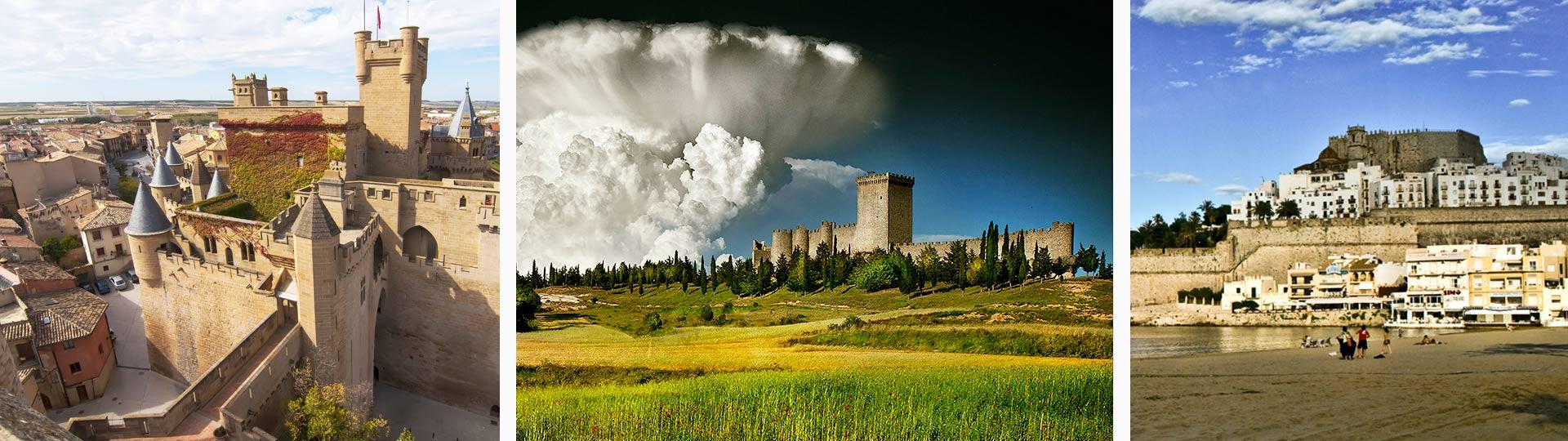 Turismo España | Castillos y fortalezas