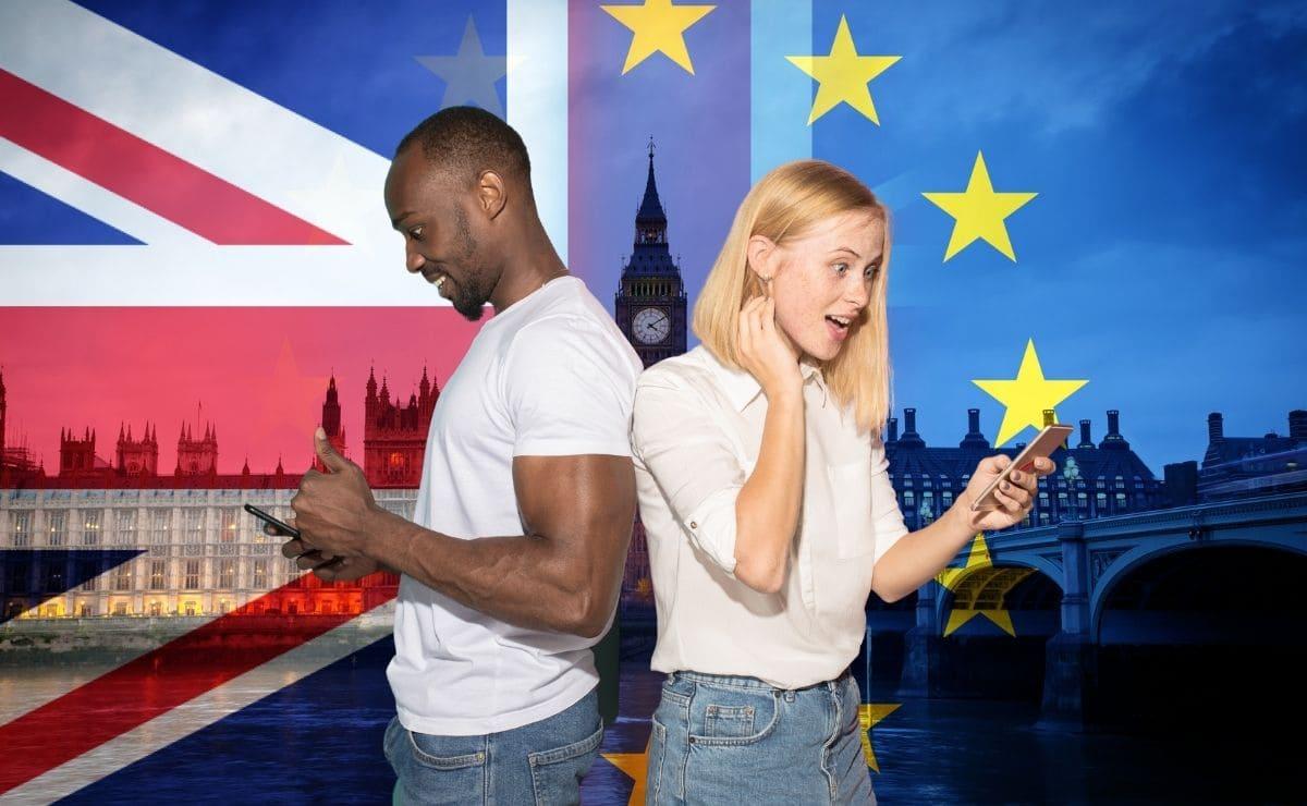 servicio de roaming en tu teléfono móvil a partir del Bréxit en Reino Unido