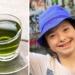 te verde niño con síndrome de down