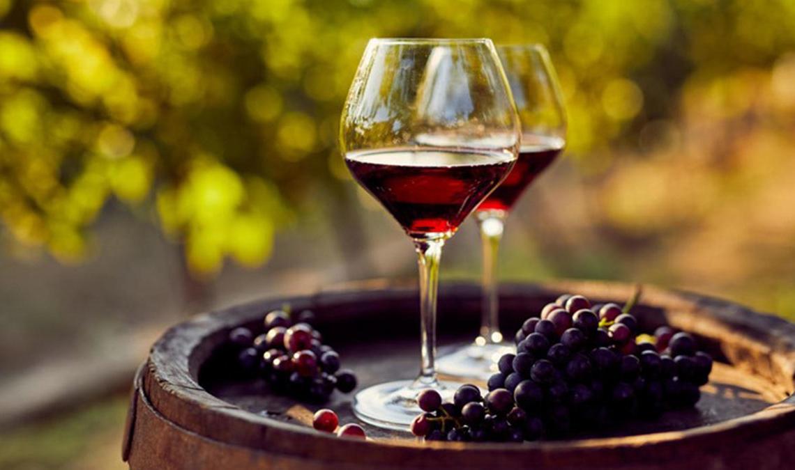 Vino tinto antioxidante Resveratrol