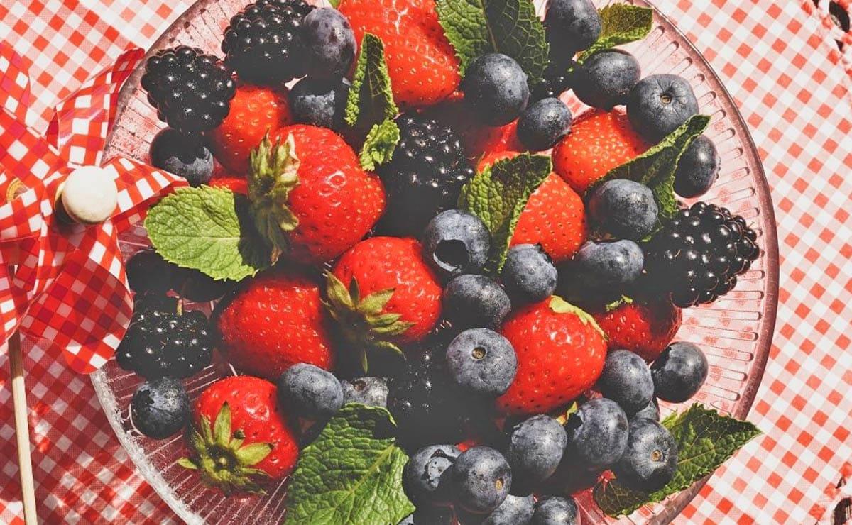 vitamina C frutos rojos