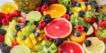 Alimentos con vitamina C primavera