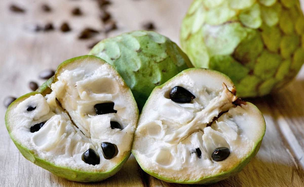 Chirimoya fruta