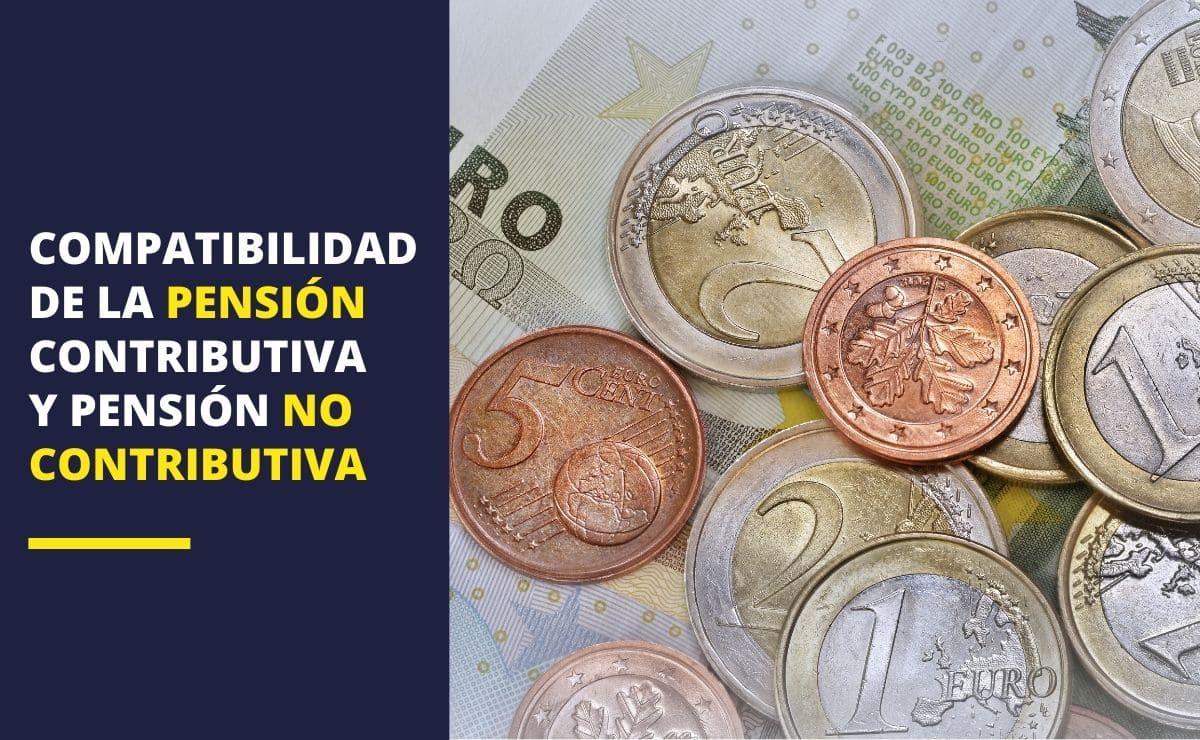 pensión no contributiva y pensión no contributiva