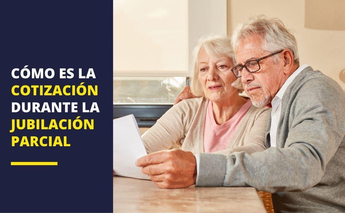 Cotización jubilación parcial