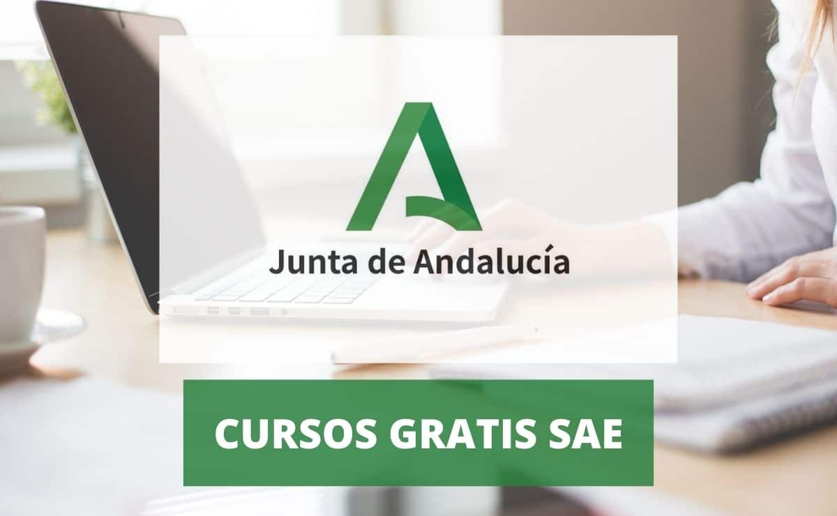 Cursos gratis del SAE de la Junta de Andalucíaa