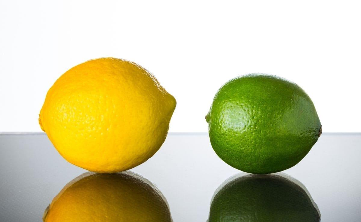 Diferencias lima y limón