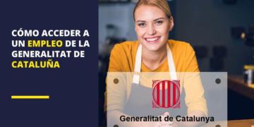 Empleo Generalitat Cataluña