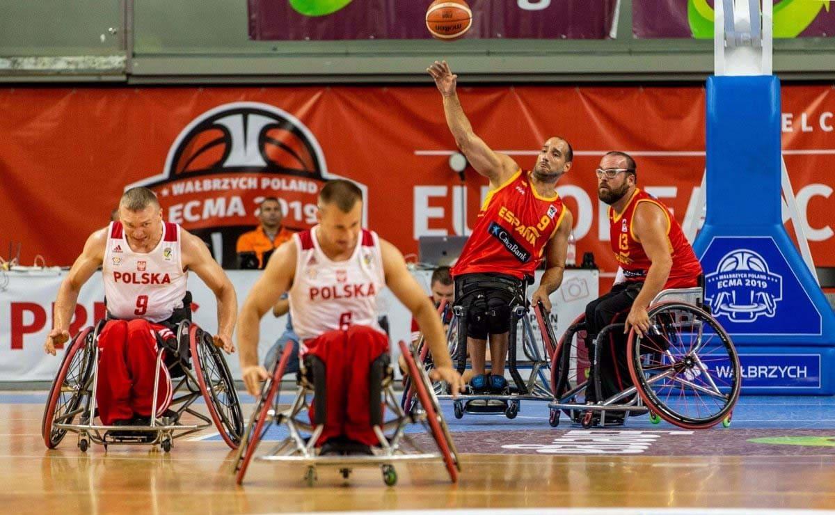Europejska koszykówka na wózkach inwalidzkich Hiszpania