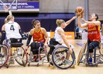 Europeo femenino baloncesto silla de ruedas España