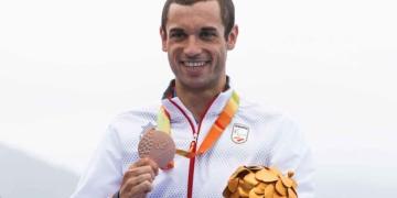 Jairo Ruiz recibe la medalla de bronce en los Juegos Paralímpicos de Tokio 2016 | CPE