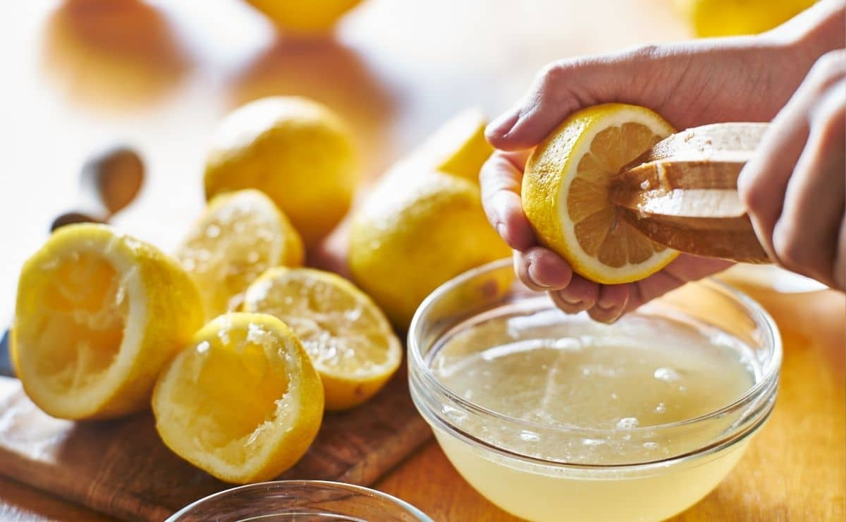 Jugo de limón casero