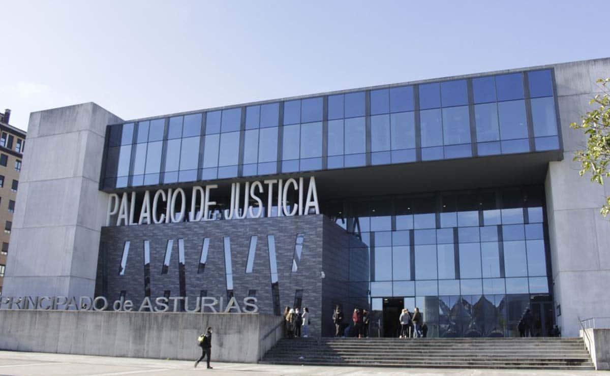 Juzgados pensión Gijón asturias Palacio de Justicia