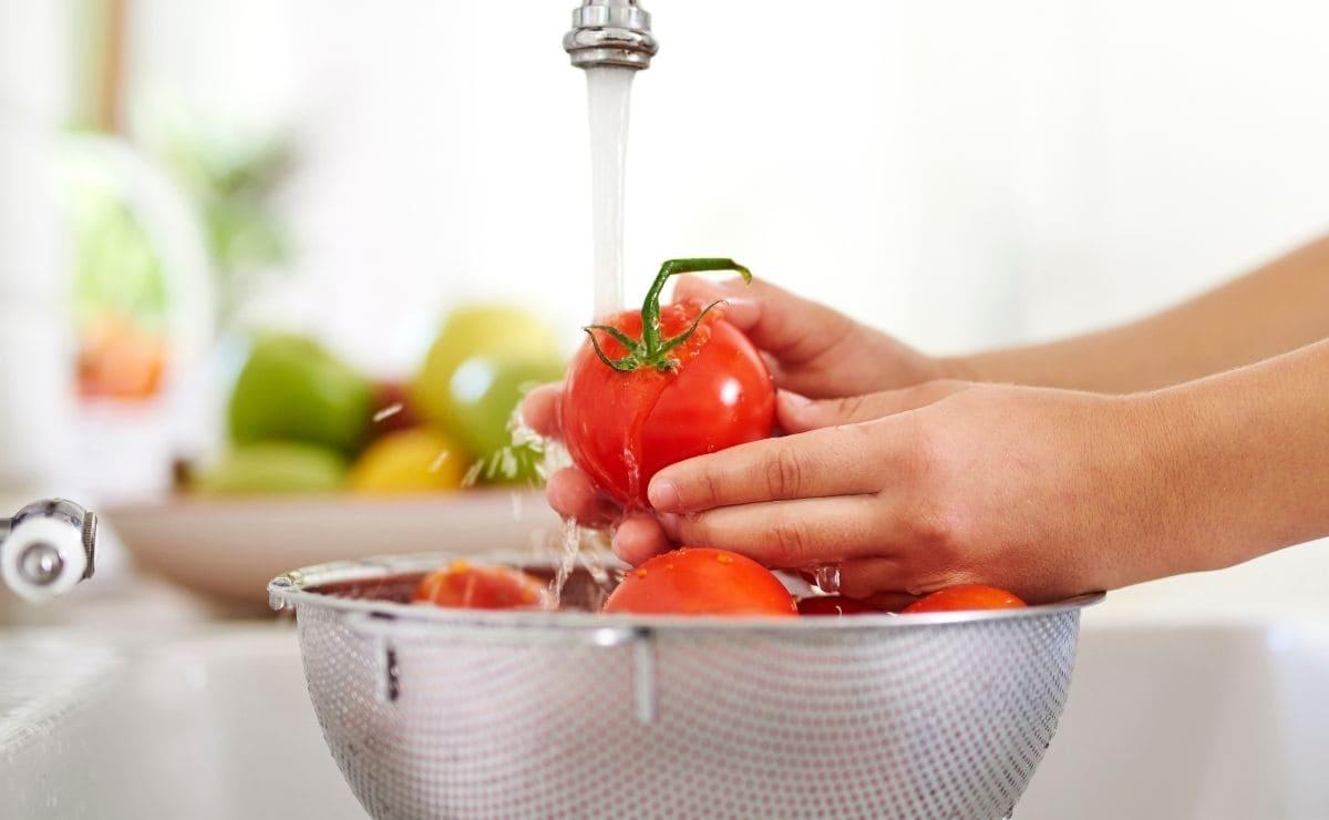 Limpiar alimentos