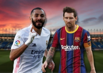 Karim Benzema y Lionel Messi, protagonistas de El Clásico