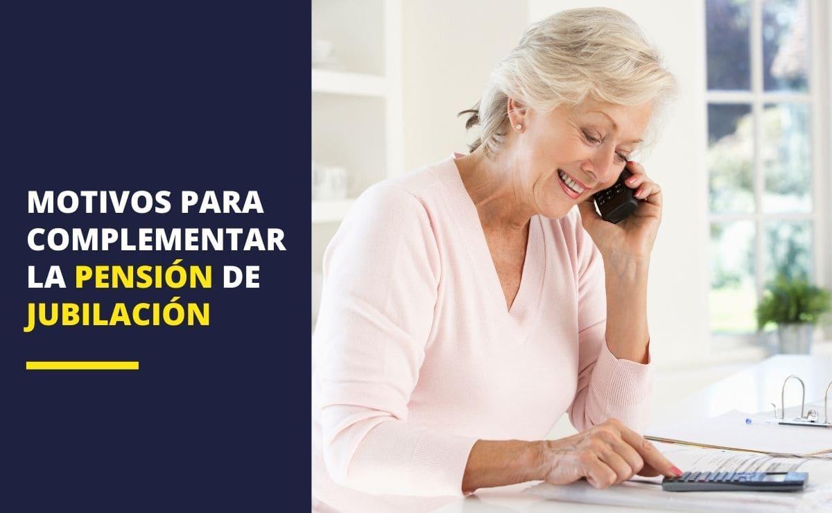 Complementos a la pensión de jubilación