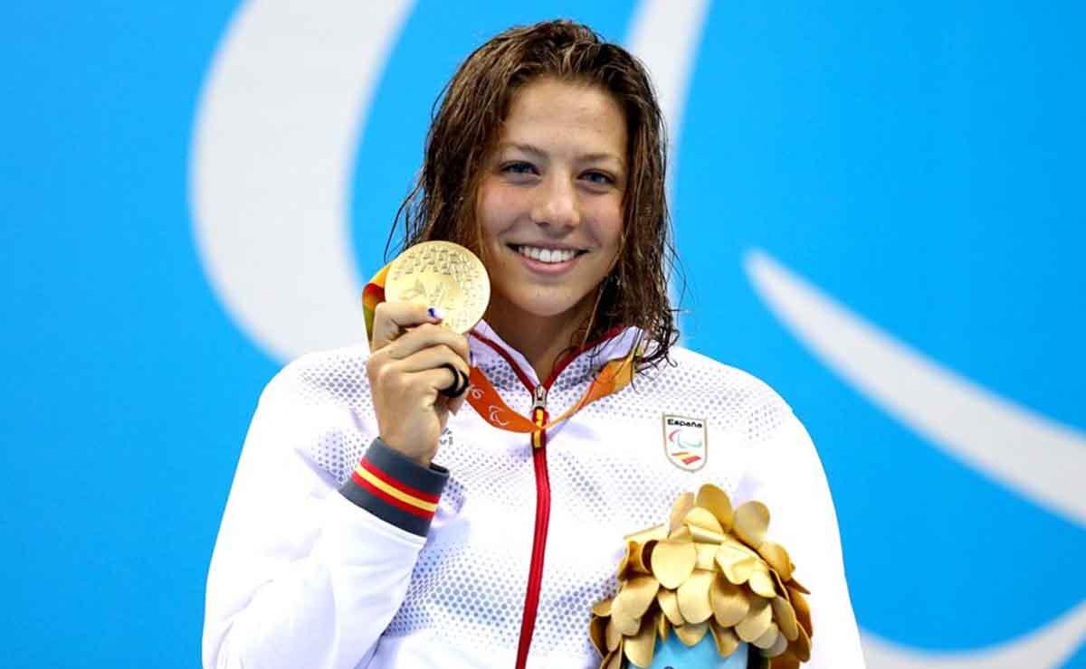 Nuria Marqués durante los Juegos Paralímpicos
