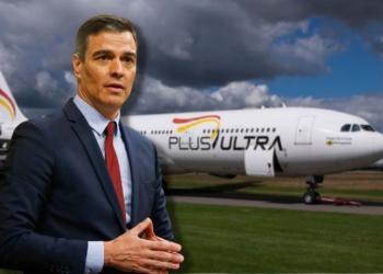 Pedro Sánchez vuelos Plus Ultra Líneas Aéreas