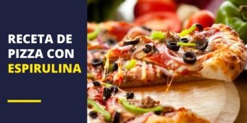 Receta de pizza con espirulina