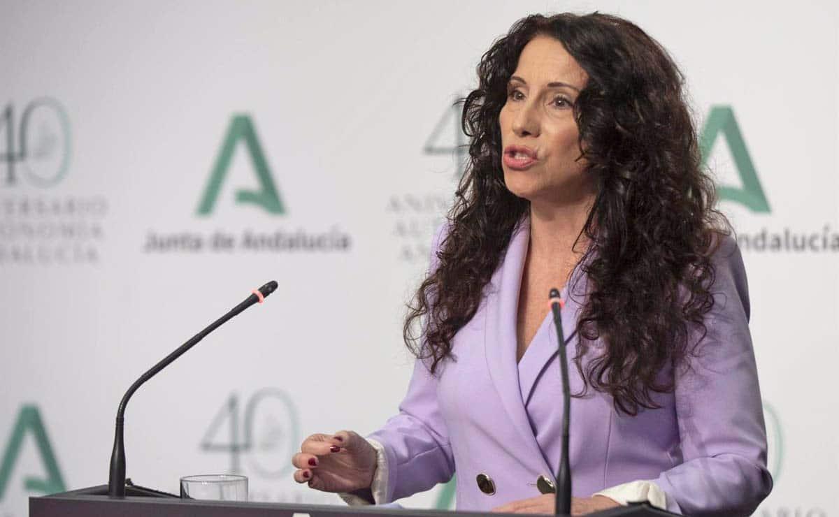 Rocío Ruiz Junta de Andalucía