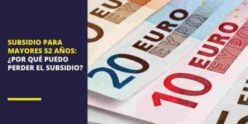 Subsidio para mayores de 52 años del SEPE