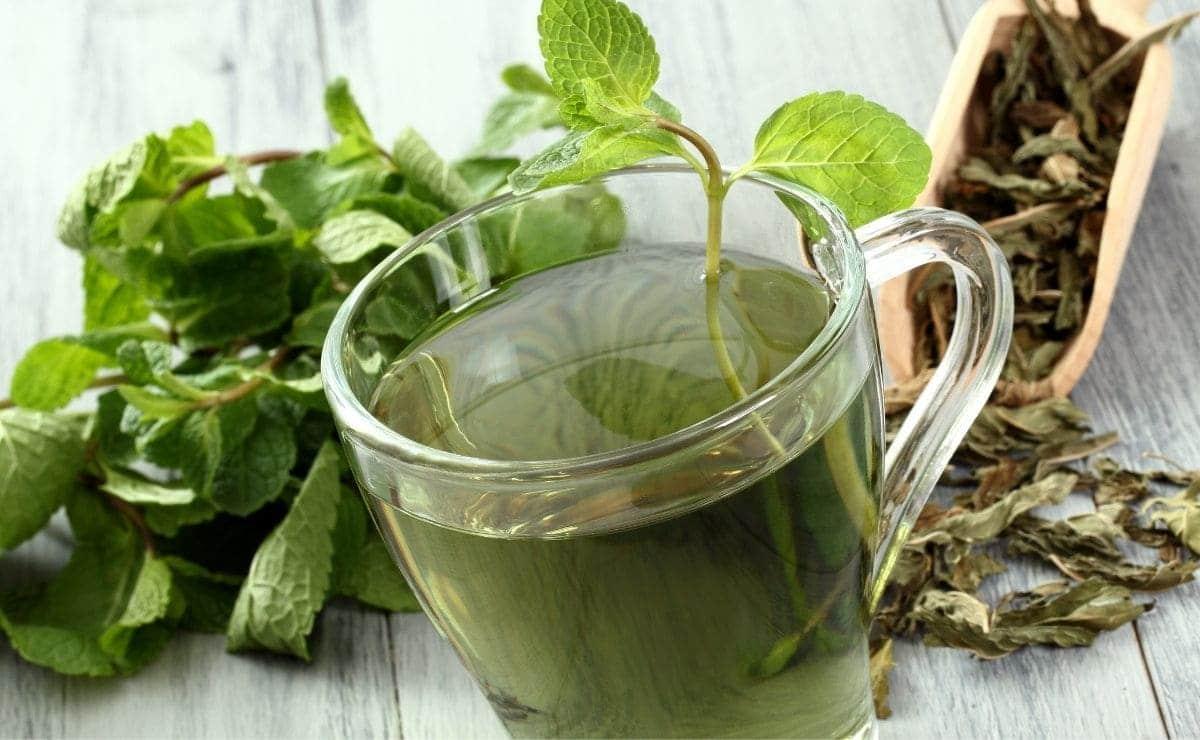 Taza té verde